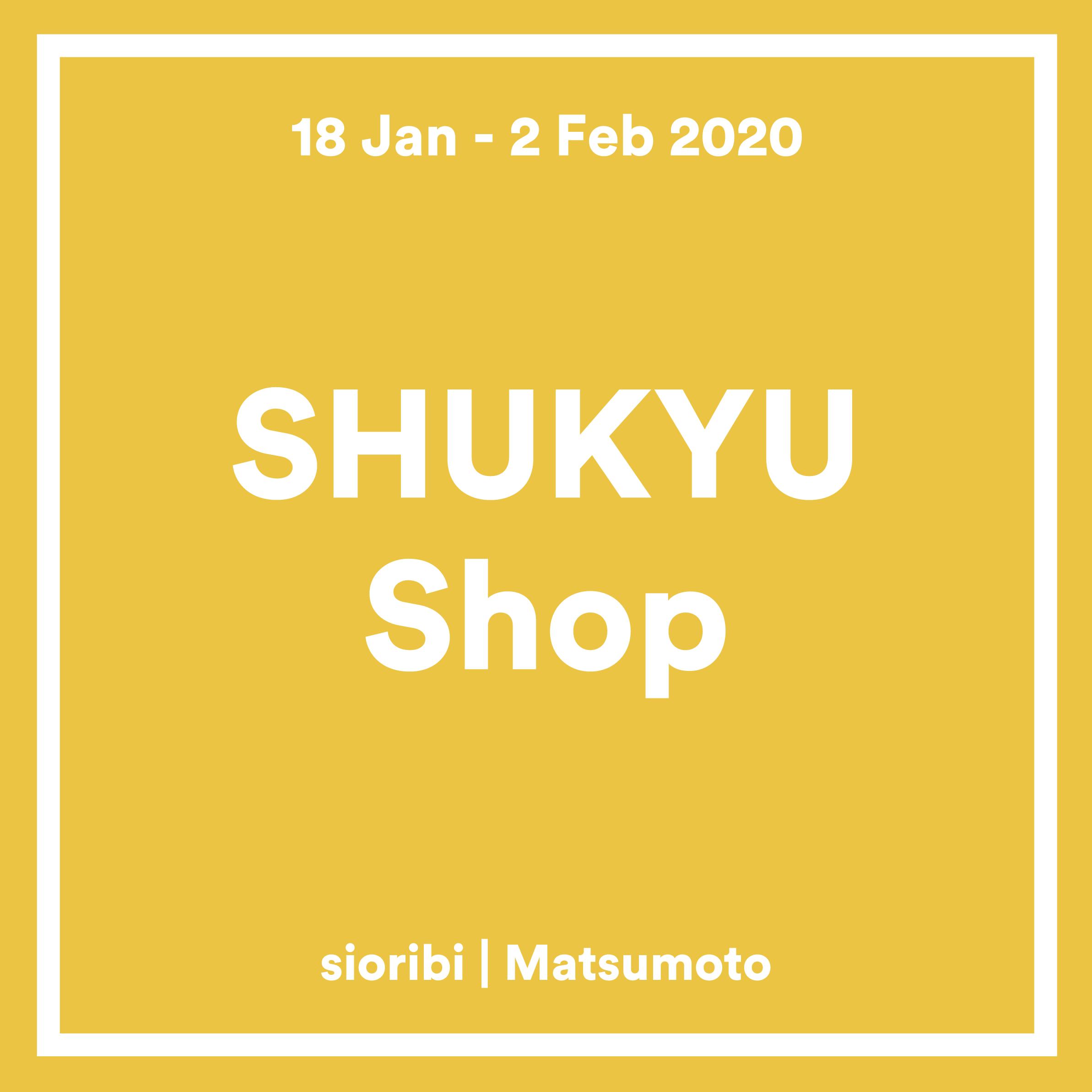 SHUKYU Shop in Matsumoto