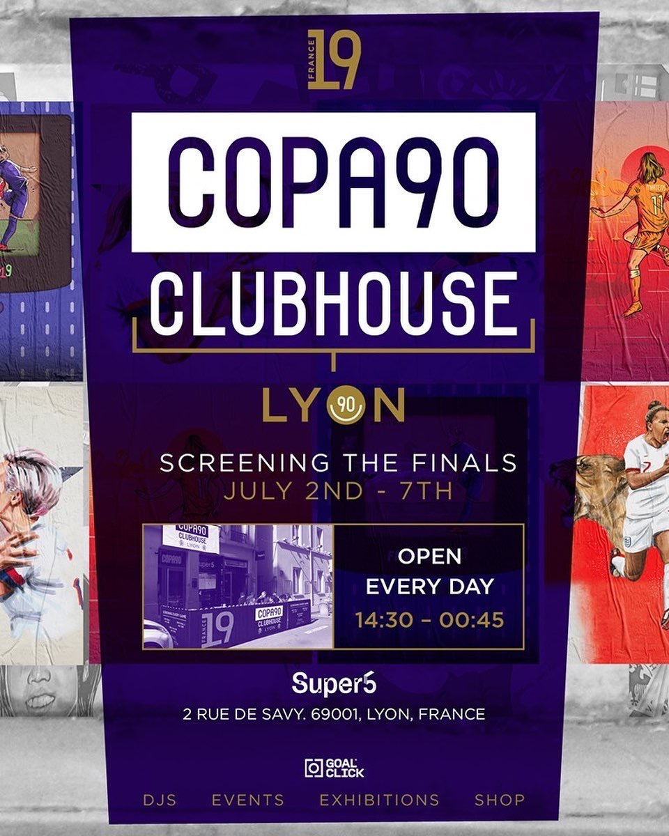 COPA90 CLUBHOUSE